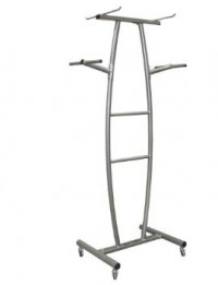 COMMERCIAL HANGING CLUB MAT RACK