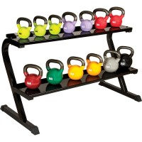 "KETTLEBELL RACK, 33"" X 27"" X 57"", HOLDS 14 KETTLEBELLS (EACH SHELF HOLD 200LBS)"