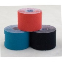 "PHYSIO TAPE, 2"" X 5 1/2 YDS, RED, LATEX FREE, WATER RESISTANT - ZZTKRED02"