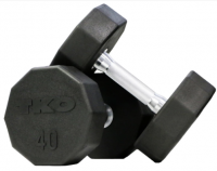 10-sided Rubber Dumbbell