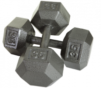 Solid Hex DumbbellsSolid Hex Dumbbells