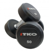 Solid Steel Urethane Dumbbell