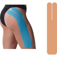 Precut Full Knee Tape, BEIGE