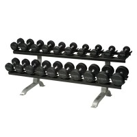 TKO 10 Pair Dumbbell Rack with Saddles