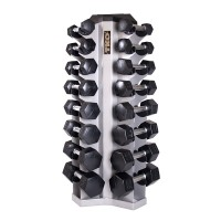 TKO 8 Pair Vertical Dumbbell Rack