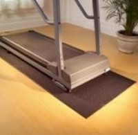 Super Treadmat- Gray (For Longer Treadmill/Elliptical)